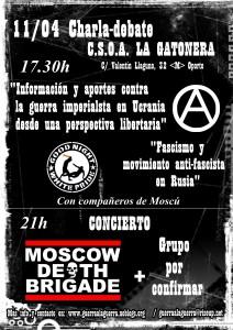 cartel jornadas rusos gatonera GRANDE IMPRIMIR